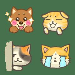 貓貓狗狗表情貼