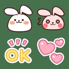 Pop Rabbit Emoji