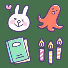 rabbit's life Emoji