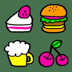 Kawaii Emoji >> Food/Drink