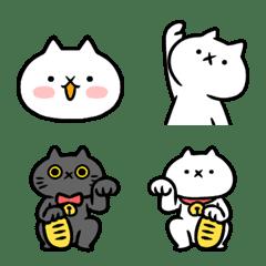 反應過激的猫(吾輩は猫です。)絵文字