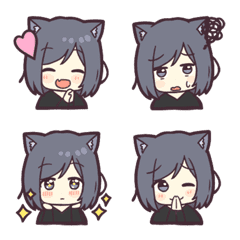 Cat girls Emoji