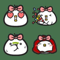 黑白雞-白雞本丸表情貼