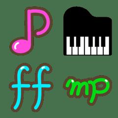 Emoticones De Symboles De Note Emoji Line Emoji Line Store