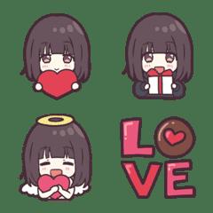 Menhera-chan. Emoji 6 - Valentine