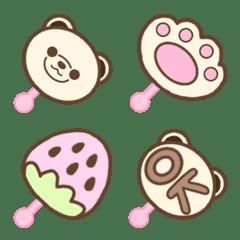 Lollipop Pretty Bear chocolate Emoji