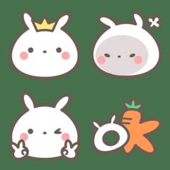 Cotton Rabbit Emoji