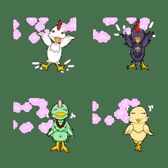 Lovely chicken Emoji – LINE Emoji | LINE STORE
