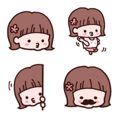 girls for everyday use Emoji