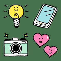 อิโมจิไลน์ Everyday Simple Emoji