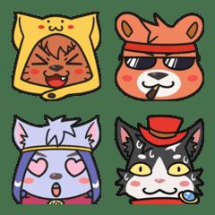 Matsuri & Friends Emoji – LINE Emoji | LINE STORE