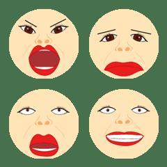 The big face emoji
