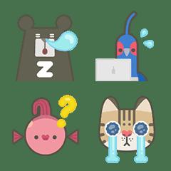 อิโมจิไลน์ Beer & Friends Emoji