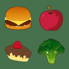 อิโมจิไลน์ อิโมจิอาหาร ของกิน  ของหวาน