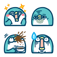 PP mini小小企鵝 表情貼2