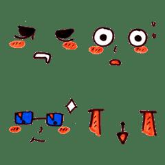 Cute funny emoji Vol.54