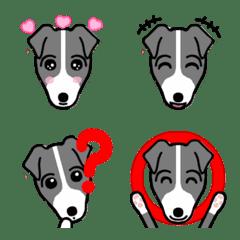 """Emoji of Italian Greyhound Dog """"Churros"""""""