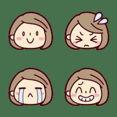 Many many girls! Emoji [short bob]1