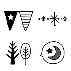 monotone frame emoji