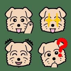 "Emoji of Norfolk Terrier Dog ""Biscuit"" 2"