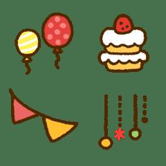 Deko Happy Emoji