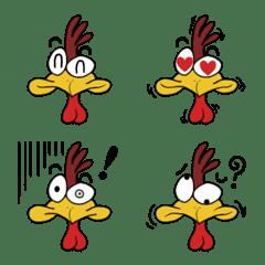 Crazy Chicken Emoji – LINE Emoji | LINE STORE