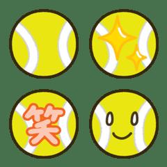 Emoji Of Tennis Ball Line Emoji Line Store