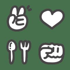 simple handwriting style Emoji