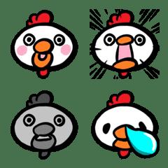 Cute Chicken Emoji – LINE Emoji | LINE STORE