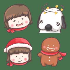 Red Cloak and Little Steamed Bun emoji 1