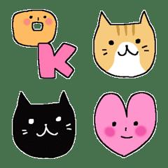 อิโมจิไลน์ Kawaii Emoji 8
