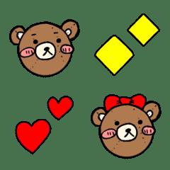 Teddybear emoji.