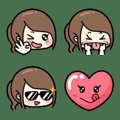 Hard Life Girl Emoji