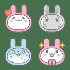 pinkusagi emoji