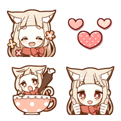 NEKOMIMI girl Emoji