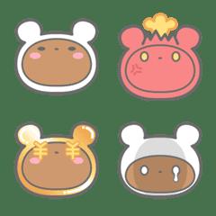 whitekuma emoji
