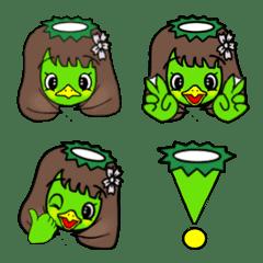 """Neneko Kappa """"Hey Ne"""" appeared in Emoji"""