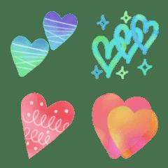 Heart 40 pieces
