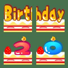HAPPY BIRTHDAY Emoji For Birthday