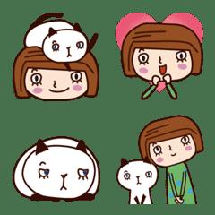 Emoji , With my cat