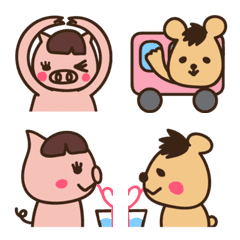 Pig&Bear Easy to use Pictograph Part 2