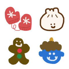 feel the winter emoji