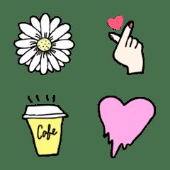 Korean Girl emojis
