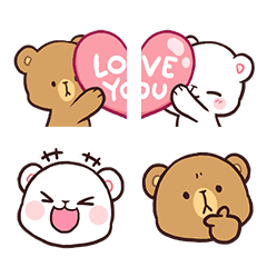 Milk & Mocha Emoji