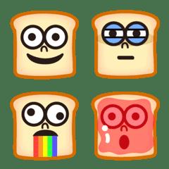 อิโมจิไลน์ Tom emoji of bread