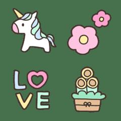 Pale color Emoji 2