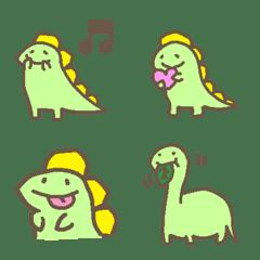 อิโมจิไลน์ Dinosaur Emoji