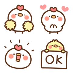 Chicken and Chick Emoji