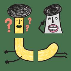 瘋狂香菇哈哈哈_鳥伯+老蚵