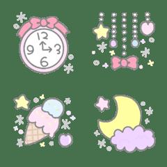 kawaiiEmoji heart&star